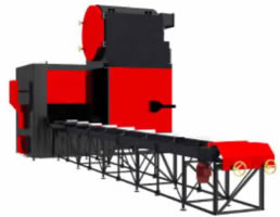 MetalERG Bio-Eco-Matic Automatic Straw-Fired Boilers